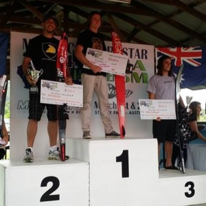 Brian Detrick - 2nd Place @ 2014 Mastercraft Australian Open ProAm